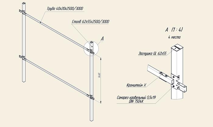 Схема монтажа Гарантия Grand line Гранд лайн эконом